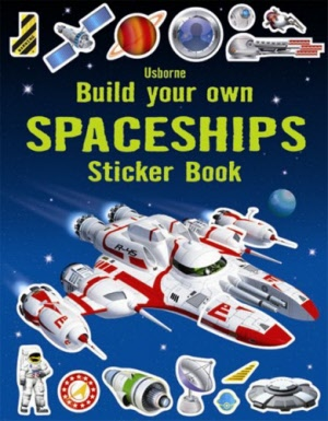 Build Your Own - Sticker Book - Spaceships